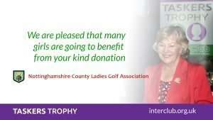 Nottinghamshire Girls project projects enhanced with Taskers Trophy Funding