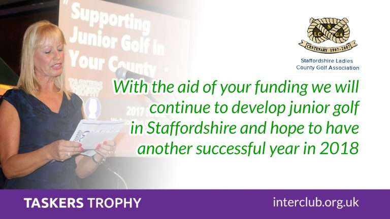 Funding will continue to develop junior golf in Staffordshire