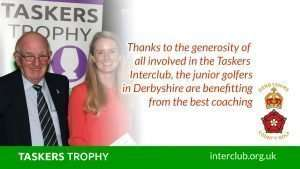 70+ young Derbyshire Golfers will benefit from Taskers funding