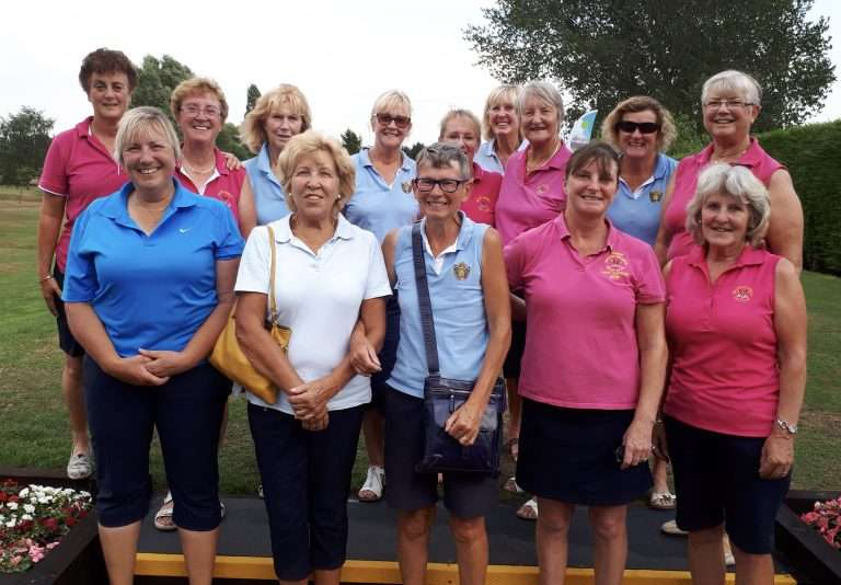 Thundery Competition sees Melton Ladies win through