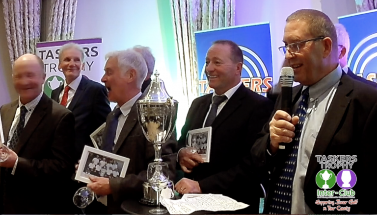 2018 Taskers Trophy Uttoxeter Winners Speech