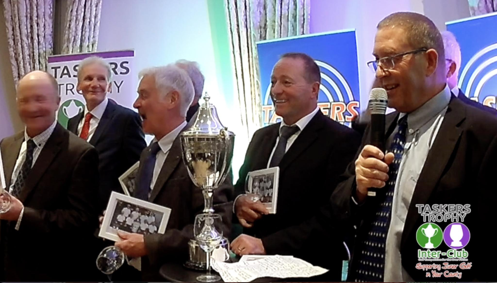 2018 Taskers Trophy Uttoxeter Winners Speech